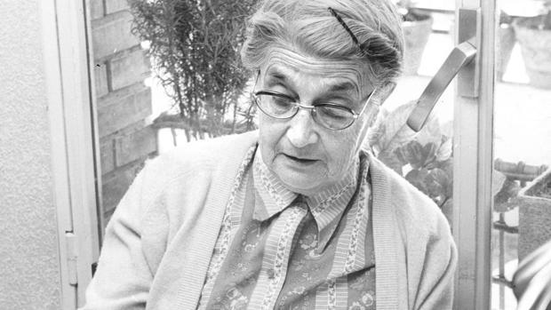 María Moliner, autora del «Diccionario de uso del Español»