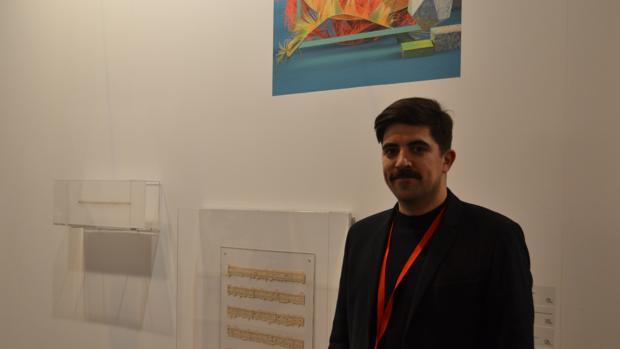 Juanma Menero, uno de los dueños de la galería Espai Tactel