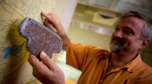 El arqueólogo de la Universidad de California San Diego Geoffrey Braswell