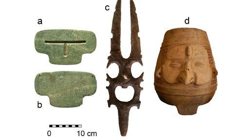 Otros objetos hallados en el yacimiento