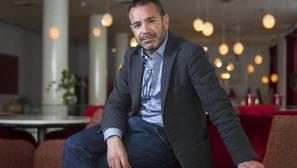 Pedro Farré, ayer durante la entrevista en un hotel madrileño