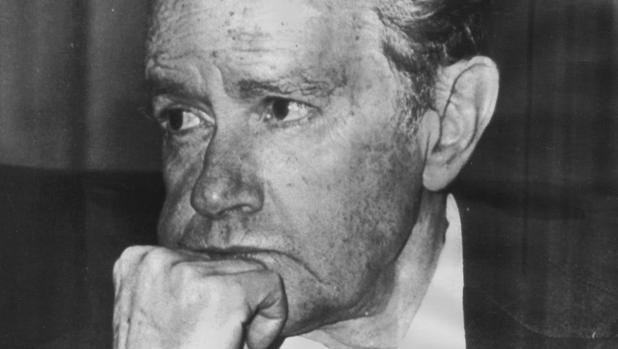 Juan Rulfo, en una imagen tomada en 1983