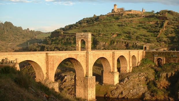 El puente romano de Alcántara (Cáceres)