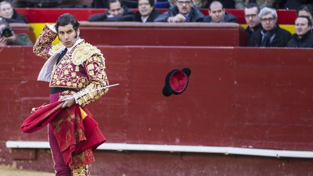 Morante, en la plaza de toros de Valencia