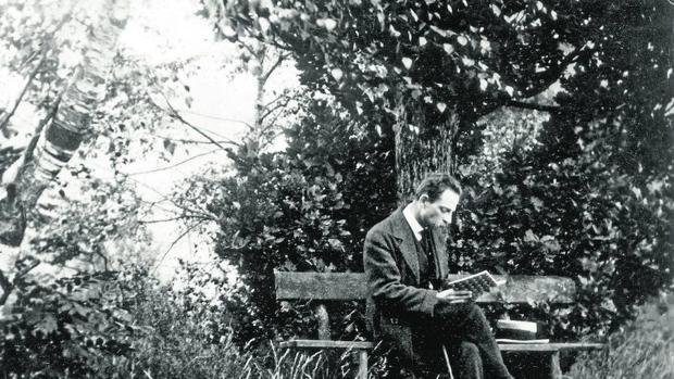 Rainer Maria Rilke en una imagen de 1913