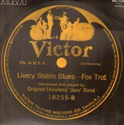 Primer disco original de Original Dixieland Jazz Band