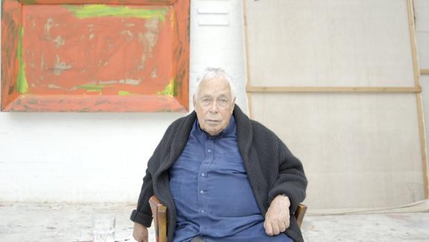 El pintor británico Howard Hodgkin