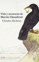 Cubierta de «Vida y aventuras de Martin Chuzzlewit», de Charles Dickens