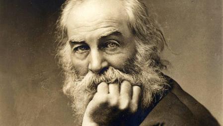 Walt Whitman, fotografiado hacia 1870
