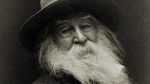 Walt Whitman, en una imagen tomada hacia 1890, dos años antes de su muerte