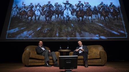 En febrero hubo una conversación de Pérez-Reverte con Ferrer-Dalmau