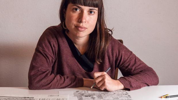 La ilustradora Ana Penyas