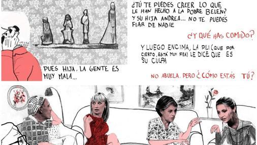 Ilustración de «Estamos todas bien», de Ana Penyas