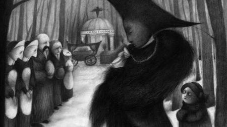 Ilustración para «Snowhite»