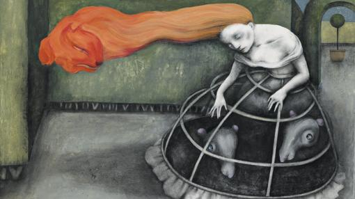 Ilustración para «Otra vuelta de tuerca», de Henry James