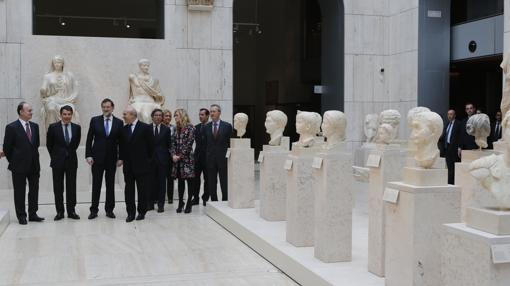Rajoy inauguró la reforma del MAN el 31 de marzo de 2014