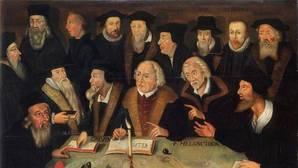 «Martin Lutero y los Reformadores», obra de la Escuela Alemana (1625-1650)