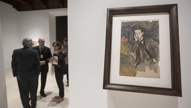 Un momento de la presentación de los nuevos fondos del Museo Picasso-Málaga