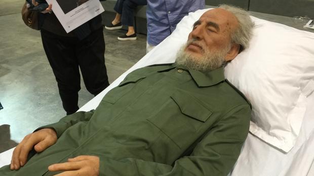 La obra que «resucita» a Fidel Castro, del artista chino Shen Shaomin
