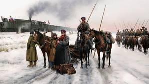 Ferrer-Dalmau revive la epopeya de los cosacos de la Rusia blanca