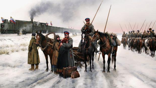 1c2f0d541eef1 Ferrer-Dalmau revive la epopeya de los cosacos de la Rusia blanca