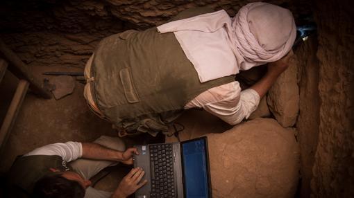 Excavación en Qubbet el Hawa, un proyecto de la Universidad de Jaén