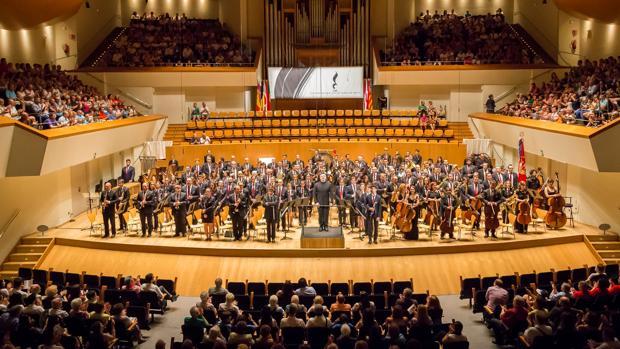 Una de las bandas sinfónicas más importantes del país se «cuela» en la Catedral de la Almudena