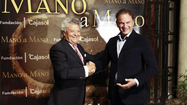 Pansequito y Julio Aparicio, mano a mano en Sevilla