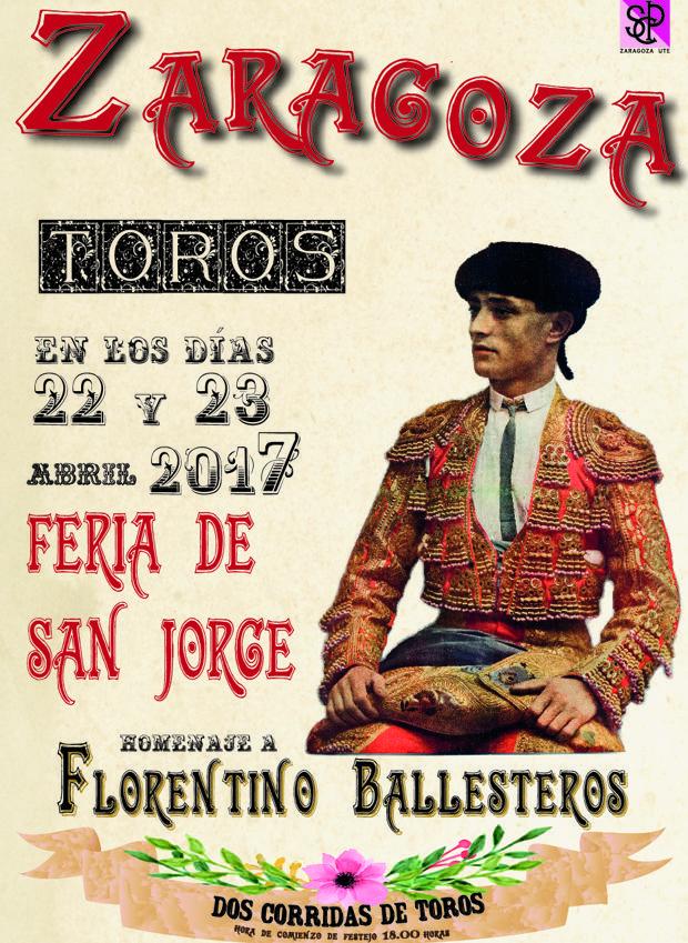 La Feria de San Jorge rinde homenaje a Florentino Ballesteros en el centenario de su cornada mortal