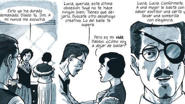 La triste historia de la hija de James Joyce llega al cómic