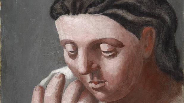 «Téte et main de femme», de Picasso