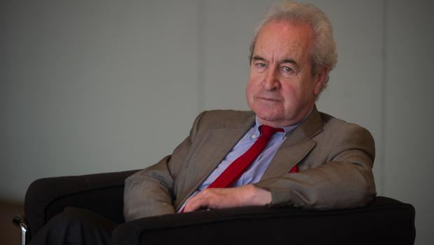 John Banville, durante la entrevista