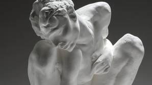 «Mujer en cuclillas», obra de Rodin