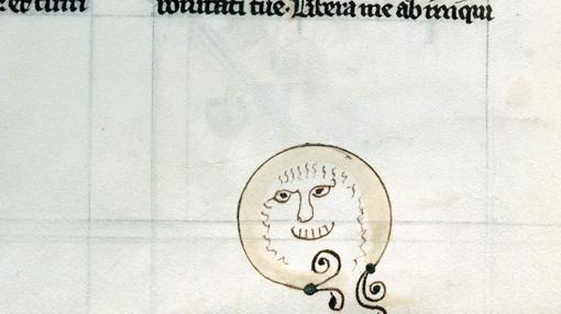 Carita sonriente medieval