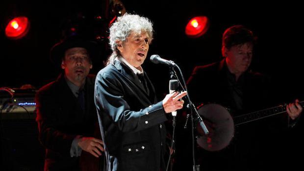 Bob Dylan durante un homenaje al cineasta Martin Scorsese el pasado 23 de marzo