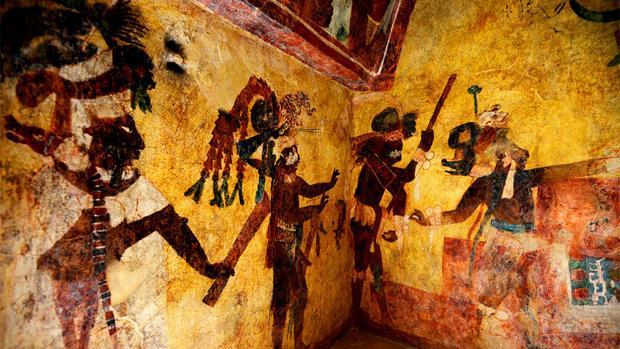 Devuelven Su Esplendor A Los Murales De Bonampak La Capilla