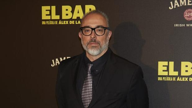 El cineasta Álex de la Iglesia, en el estreno de su última película, «El bar»
