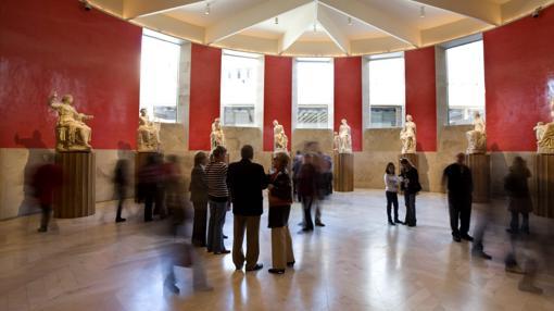 Sala de las Musas de la ampliación del Museo del Prado