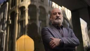 Fernando Aramburu, la pasada semana en un hotel madrileño