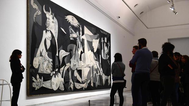 El «Guernica», la joya de la Corona del Museo Reina Sofía