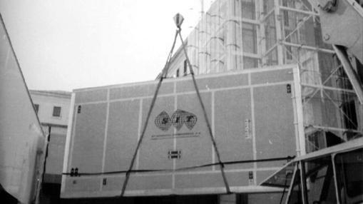 El «Guernica», a su llegada al Museo Reina Sofía