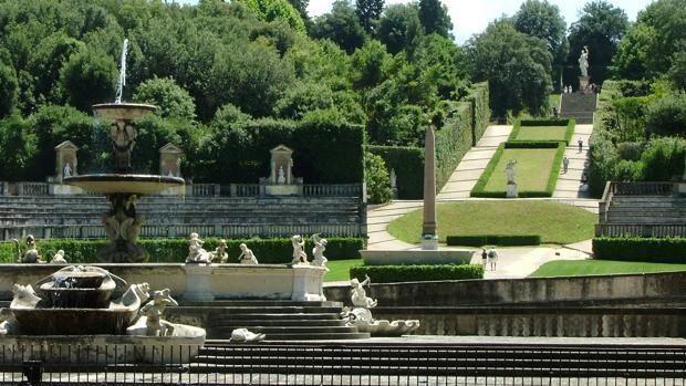 Los jardines de Boboli, en Florencia