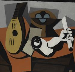«Mandolina, frutero y brazo de yeso» (1925). Metropolitan Museum, Nueva York
