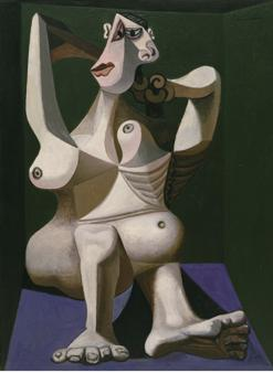 «Mujer peinándose» (1940), MoMA, Nueva York