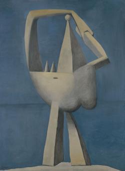 «Desnudo de pie junto al mar» (1929). Metropolitan Museum, Nueva York