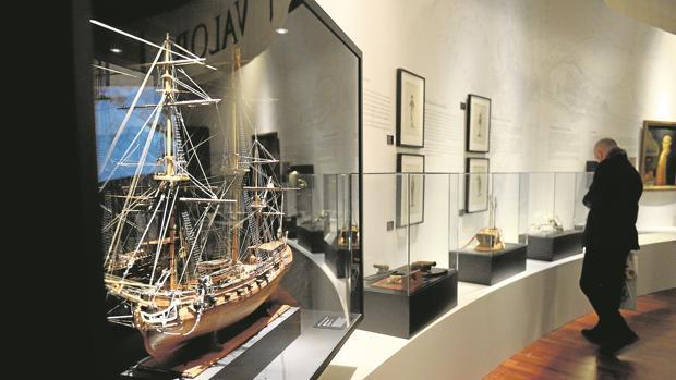 Exposición ubicada en el Museo Naval de Madrid