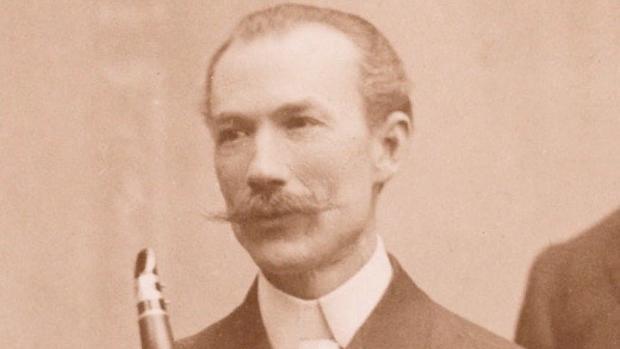 El clarinetista Manuel Gómez
