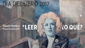 El cartel del Día del Libro, obra de Javier Sáez Castán