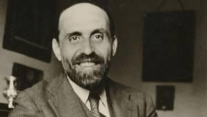 Juan Ramón Jiménez, fotografiado por Juan Guerrero en 1931
