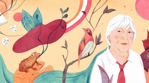 Detalle de la ilustración de Luisa Rivera para «Me crece la barba», de Gloria Fuertes, en edición de Paloma Porpetta, (Reservoir Books)